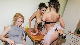 Students partying and masturbating