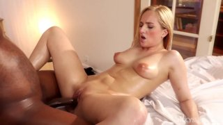 Kate England gets a thorough massaging