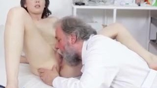 The Old Doctor Takes Care Of His Sexy Young Patient