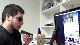 Bible teacher got his cock swallowed by Maya Grand