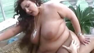 Hot sex experience for hugest BBW slut