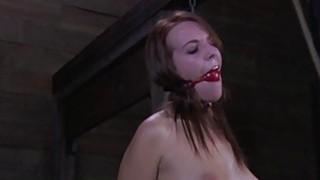 merciless dominatrix lesbian decreased her Bondage slave girl 5