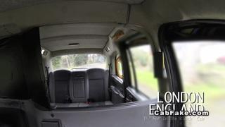 Busty British bbw banged in fake taxi