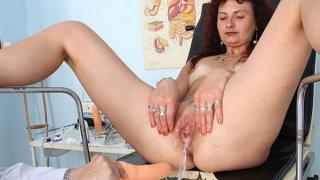 Redhead milf vagina checkup at kinky hospital